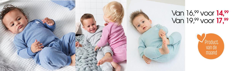 Product Van De Maand Feetje Wafeltjes Pyjama Babyplanet