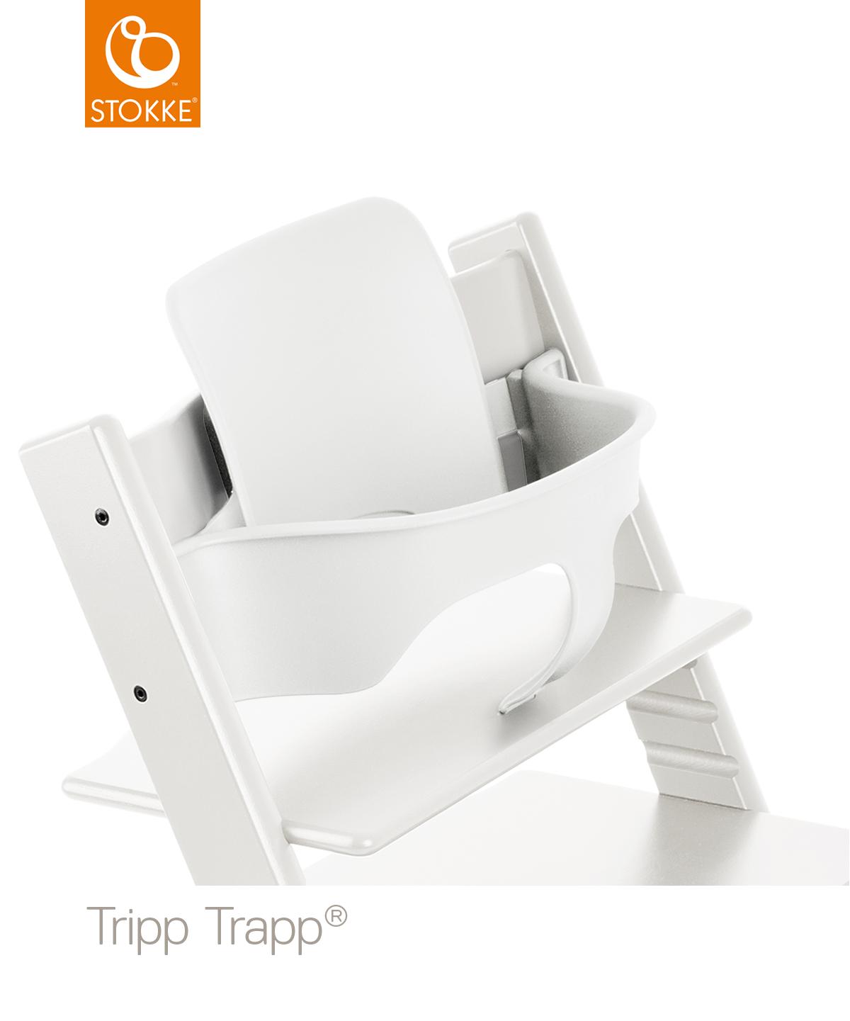 Stokke Kinderstoel Aanbieding.Stokke Tripp Trapp White Incl Babyset