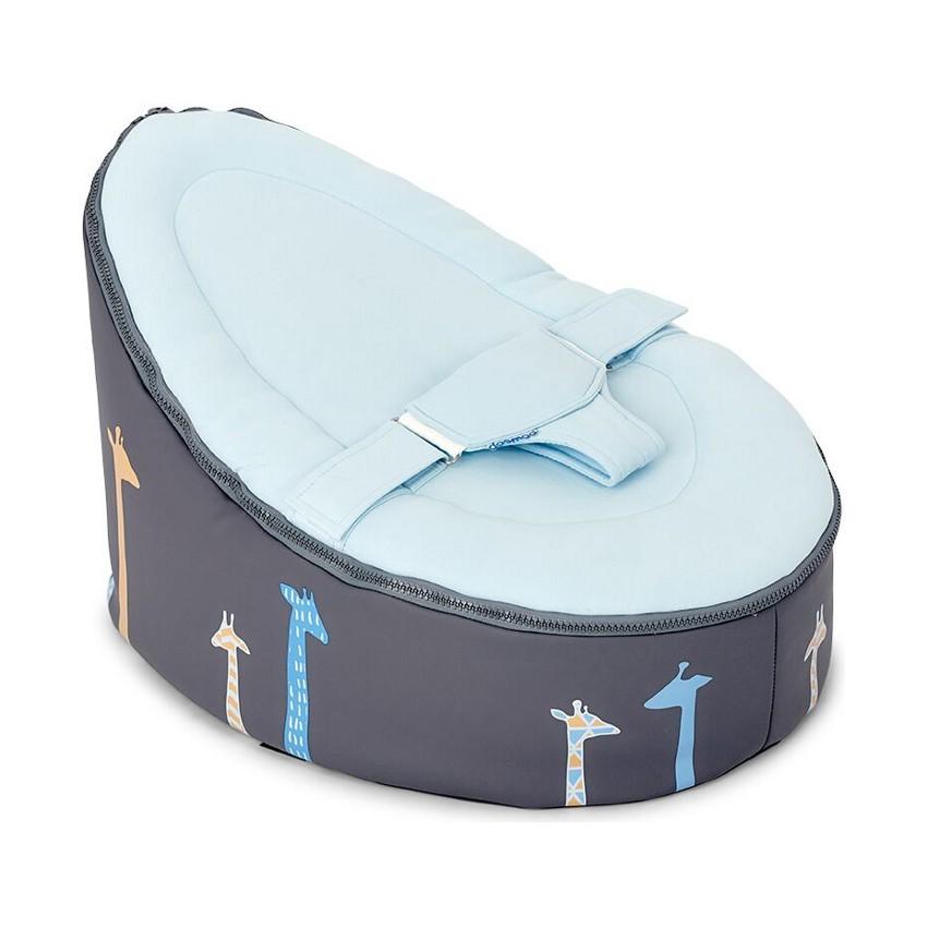 Doomoo Zitzak Blauw.Doomoo Seat Giraf Blue