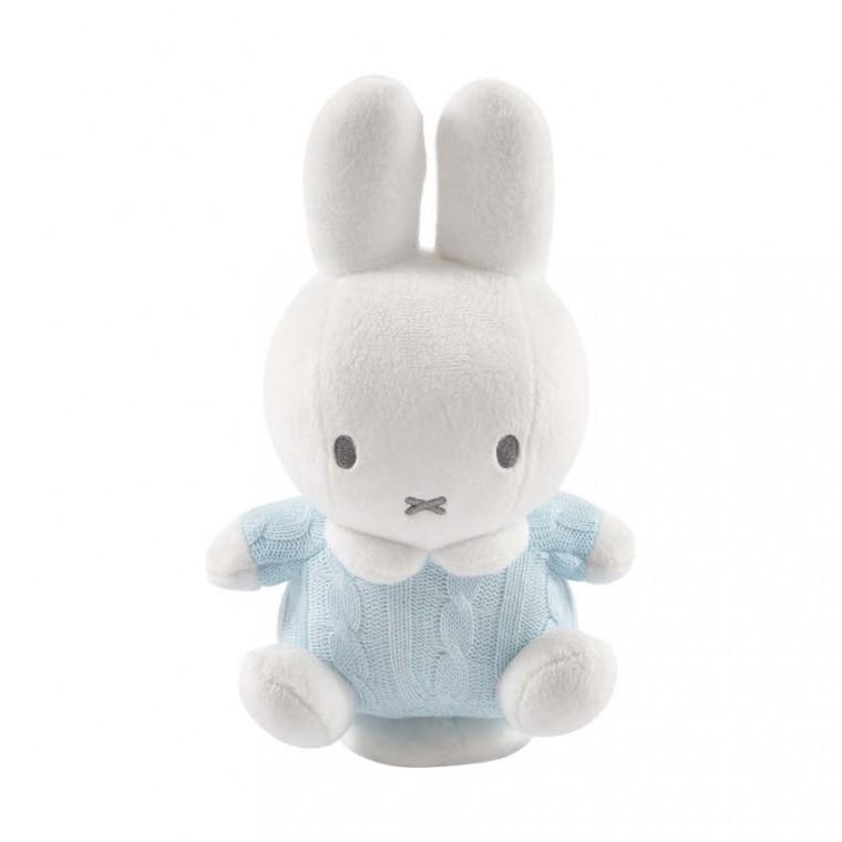 ad659c54d7fd16 Nijntje Draaiende Muziekdoos Blauw Gebreid | Nijntje Baby Speelgoed |  BabyPlanet