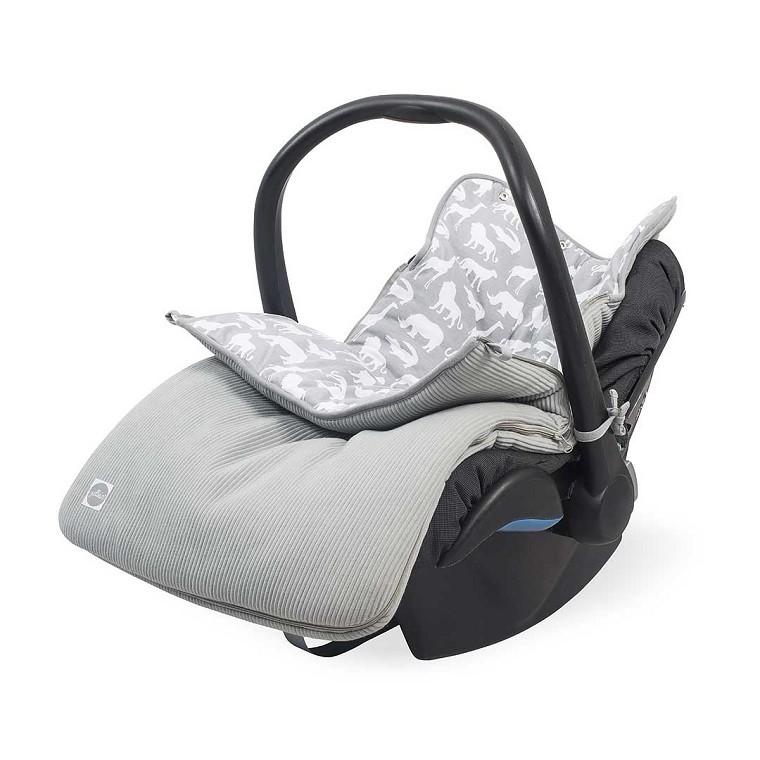 222b8e97c6342f Jollein Comfortbag Voetenzak Safari Stone Grey online kopen? | BabyPlanet