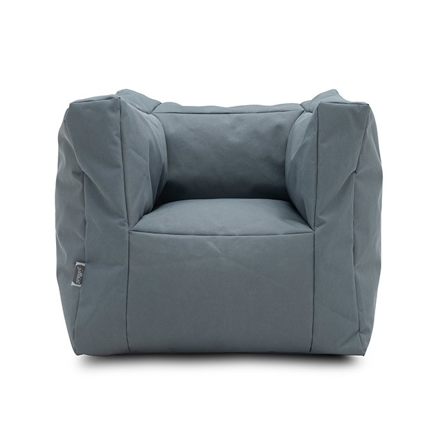 Brilliant Jollein Fauteuil Beanbag Canvas Storm Grey Ncnpc Chair Design For Home Ncnpcorg