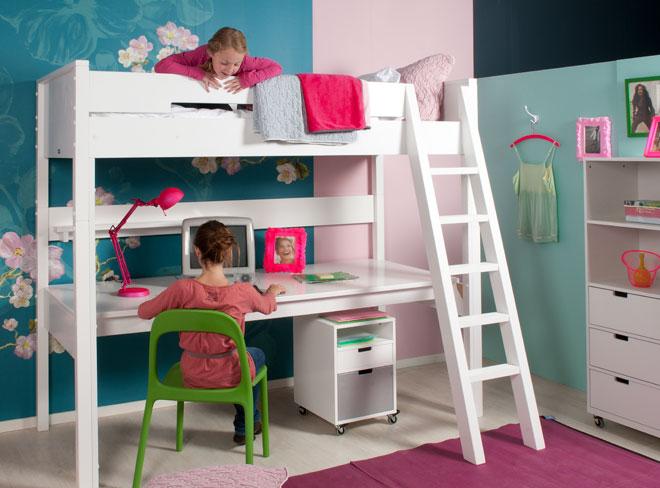 Bopita Halfhoogslaper Wit.Bopita Combiflex Bureaublad Hoogslaper Online Kopen Babyplanet