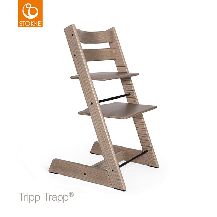 Tiamo Meegroeistoel Taupe.Stokke Tripp Trapp Kinderstoel Ash Limited Edition