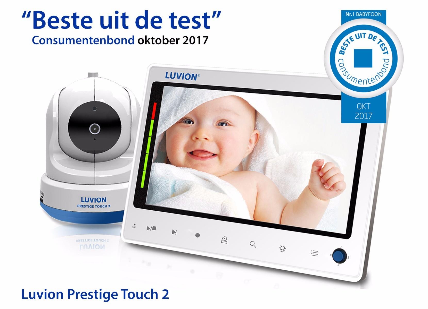 Luvion Babyfoon Prestige Touch 2 Online Kopen Babyplanet